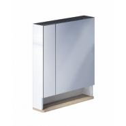 Шкаф-зеркалo Iddis Carlow 70, 700х750 мм, CAR7000i99, , 11 391 руб., CAR7000i99, Iddis, Зеркальные шкафы