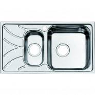 Мойка для кухни 1 1/2, чаша справа Iddis Arro, 780х440 мм, ARR78SZi77