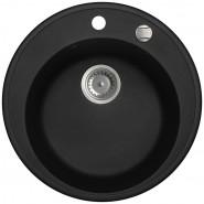 Мойка для кухни Granucryl Iddis Kitchen G, 510х510 мм, K01B511i87, , 12 310 руб., K01B511i87, Iddis, Мойки гранитные