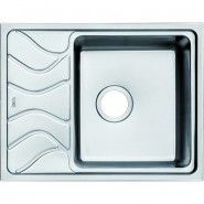 Мойка для кухни чаша справа Iddis Reeva, 615х480 мм, REE61SRi77, , 10 308 руб., REE61SRi77, Iddis, Мойки из нержавеющей стали