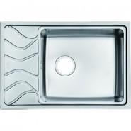 Мойка для кухни чаша справа Iddis Reeva, 715х480 мм, REE71SRi77, , 10 330 руб., REE71SRi77, Iddis, Мойки из нержавеющей стали