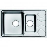Мойка для кухни чаша 1 1/2, слева Iddis Reeva, 780х480 мм, REE78SXi77, , 12 440 руб., REE78SXi77, Iddis, Мойки из нержавеющей стали