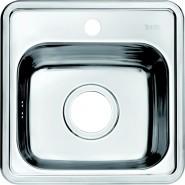 Мойка для кухни Iddis Strit, 380х380 мм, STR38S0i77