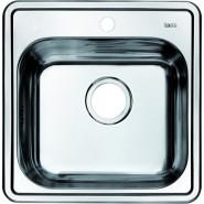 Мойка для кухни Iddis Strit, 485х485 мм, STR48P0i77, , 5 178 руб., STR48P0i77, Iddis, Мойки из нержавеющей стали
