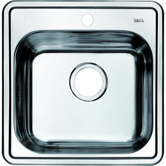 Мойка для кухни Iddis Strit, 485х485 мм, STR48S0i77