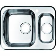 Мойка для кухни 1 1/2, чаша слева Iddis Strit, 605х480 мм, STR60SXi77, , 6 230 руб., STR60SXi77, Iddis, Мойки из нержавеющей стали