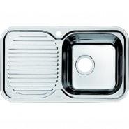 Мойка для кухни чаша справа Iddis Strit, 760х435 мм, STR76SRi77, , 5 064 руб., STR76SRi77, Iddis, Мойки из нержавеющей стали