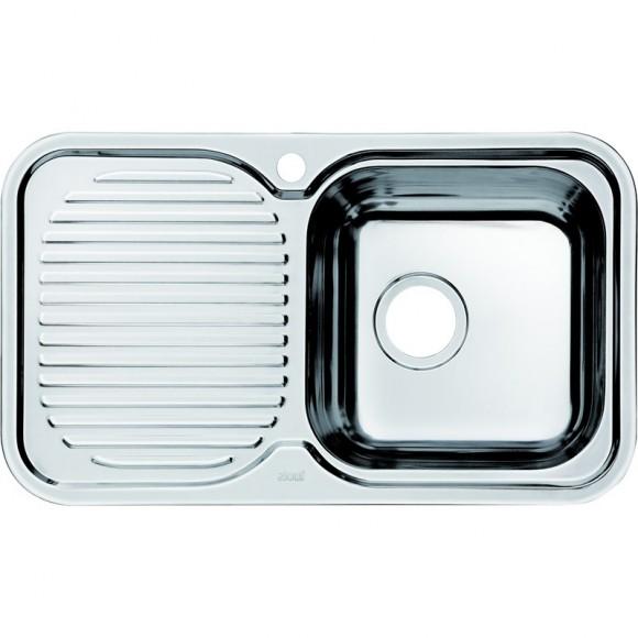 Мойка для кухни чаша справа Iddis Strit, 760х435 мм, STR76SRi77