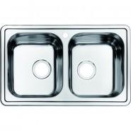 Мойка для кухни Iddis Strit, 780х480 мм, STR78S2i77, , 8 313 руб., STR78S2i77, Iddis, Мойки из нержавеющей стали