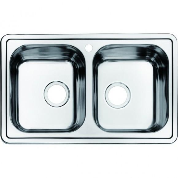 Мойка для кухни Iddis Strit, 780х480 мм, STR78S2i77