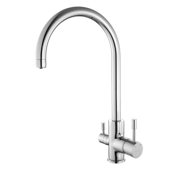 Смеситель для кухни с каналом для фильтрованной воды Iddis Kitchen F, 220 мм, KF20SBJi05