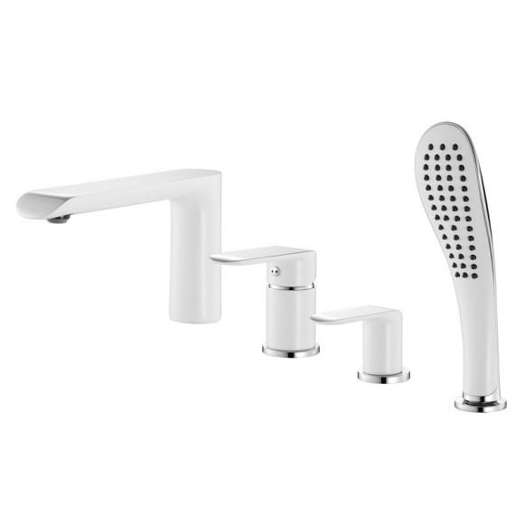 Смеситель для ванны на 4 отверстия Iddis Calipso, 180 мм, CALSB42i07