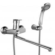 Смеситель для ванны с длинным изливом Iddis Sicily, 415 мм, SICSBL2i10