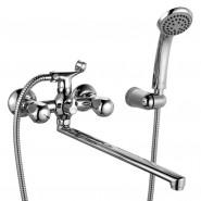 Смеситель для ванны с длинным изливом Iddis Classic Plus, 407 мм, CLPSBL2i10, , 6 190 руб., CLPSBL2i10, Iddis, Смесители iddis