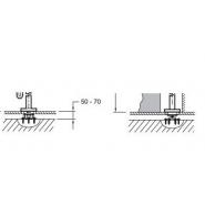 База для напольной установки смесителя Jacob Delafone Avid, 97904D-NF, , 8 081 руб., 97904D-NF, Jacob Delafone, Комплектующие для смесителей