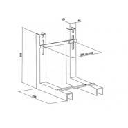 Металлическая опорная рама без покрытия Jacob Delafon Bati-Support, E6510-NF, , 9 008 руб., E6510-NF, Jacob Delafone, Инсталляции для унитазов