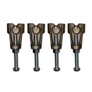 Комплект ножек для ванны Jacob Delafone Catherine, E2956-NF, , 3 711 руб., E2956-NF, Jacob Delafone, Комплектующие для ванн
