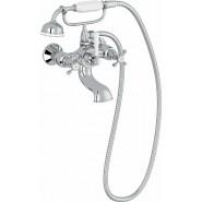 Смеситель для ванны и душа Jacob Delafon Cleo, 181 мм, E24313-CP, , 37 896 руб., E24313-CP, Jacob Delafone, Смесители для ванны и душа