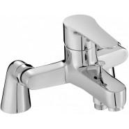 Смеситель для ванны и душа Jacob Delafon July, 184 мм, E16043-4-CP, , 10 935 руб., E16043-4-CP, Jacob Delafone, Смесители на борт ванны