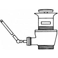 Донный клапан Jacob Delafone Out Of Collection, E78219-CP, , 2 696 руб., E78219-CP, Jacob Delafone, Комплектующие для смесителей