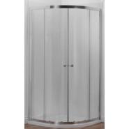 1/4 круга с 2 раздвижными дверями Jacob Delafon Serenity, 80х190 см, E14R80-GA, , 32 840 руб., E14R80-GA, Jacob Delafone, Душевые двери
