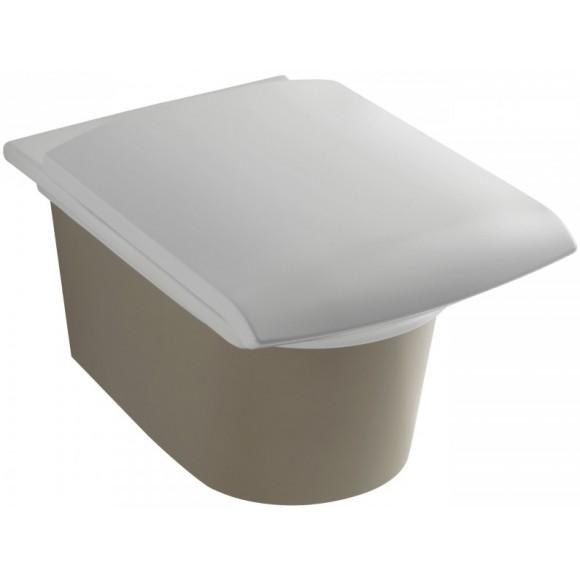 Унитаз подвесной с крышкой-сиденьем Jacob Delafone Stillness, E1303-00