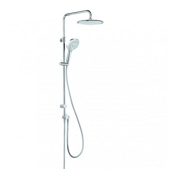 Душевая система KLUDI DUAL, 250 мм/1290 мм, 6709005-00