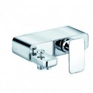 Смеситель для ванны и душа KLUDI E2, 155 мм, 494450575, , 35 600 руб., 494450575, Kludi, Смесители для ванны и душа