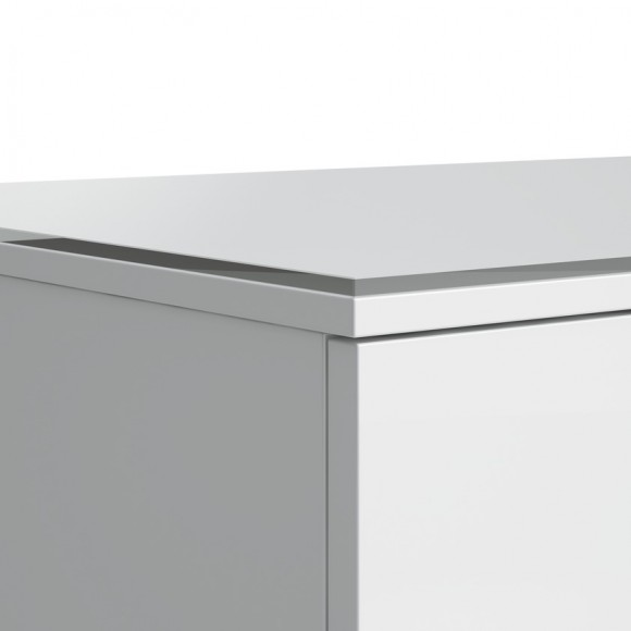 Стеклянная накладная панель KARTELL LAUFEN, 4.0782.0.033.631.1