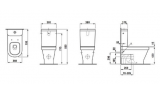 Крышка-сиденье Lb3 modern/design LAUFEN, 8.9568.3.300.000.1