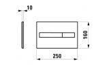 Кнопка смыва LIS LAUFEN, 8.9566.1.004.000.1