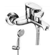 Смеситель для ванны и душа Lemark Nero, 183 мм, LM0214C, , 5 330 руб., LM0214C, Lemark,Чехия, Смесители для ванны и душа