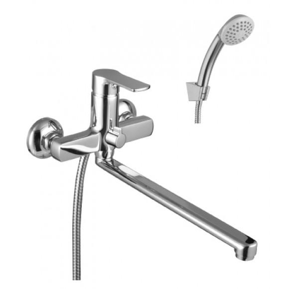 Смеситель  для ванны и душа Lemark Plus Grace, 300 мм, LM1551C