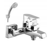 Смеситель для ванны и душа Lemark Plus Factor, 161 мм, LM1612C, , 6 730 руб., LM1612C, Lemark,Чехия, Смесители для ванны и душа