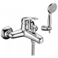 Смеситель для ванны и душа Lemark Omega, 144 мм, LM3102C, , 7 180 руб., LM3102C, Lemark,Чехия, Смесители для ванны и душа