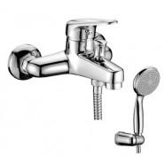 Смеситель для ванны и душа Lemark Luna, 157 мм, LM4102C, , 6 696 руб., LM4102C, Lemark,Чехия, Смесители для ванны и душа
