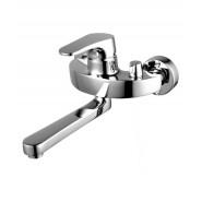 Смеситель для ванны и душа Lemark Shift, 274 мм, LM4314C, , 11 411 руб., LM4314C, Lemark,Чехия, Смесители с длинным изливом