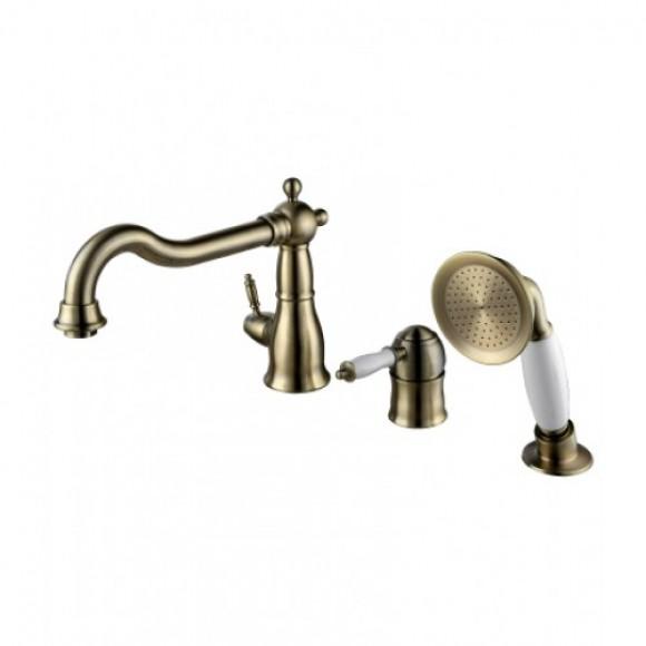 Смеситель встраиваемый для ванны Lemark Villa, 221 мм, LM4845B