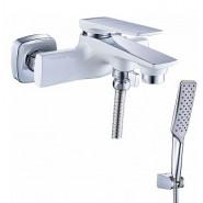 Смеситель для ванны и душа Lemark Allegro, 194 мм, LM5914CW, , 13 200 руб., LM5914CW, Lemark,Чехия, Смесители для ванны и душа