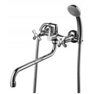 Смеситель  для ванны и душа Lemark Partner, 300 мм, LM6541C
