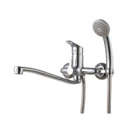 Смеситель  для ванны и душа Lemark Partner, 300 мм, LM6553C