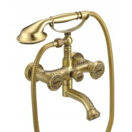 Смеситель для ванны и душа Lemark Jasmine, 166 мм, LM6614B, , 15 530 руб., LM6614B, Lemark,Чехия, Смесители для ванны и душа