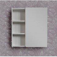 Зеркальный шкаф Mellow Темпо, 60 см, белый, , 4 903 руб., Зер. шкаф Темпо 60 см, белый, MELLOW, Шкафы для ванных комнат