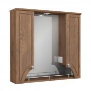 Зеркальный шкаф Merkana Пиллау 80 2-141-025-S, 800х750 мм, ф23909, , 10 801 руб., ф23909, Merkana, Зеркальные шкафы