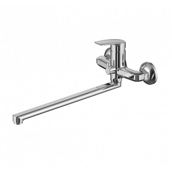 Смеситель для ванны Milardo Niagara, 422 мм, NIASBLCM10