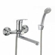 Смеситель для ванны Milardo Simp, 172 мм, SIMSB02M02, , 4 815 руб., SIMSB02M02, Milardo, Смесители для ванны и душа