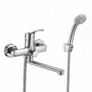 Смеситель для ванны Milardo Sterm, 172 мм, STESB02M02, , 5 389 руб., STESB02M02, Milardo, Смесители для ванны и душа
