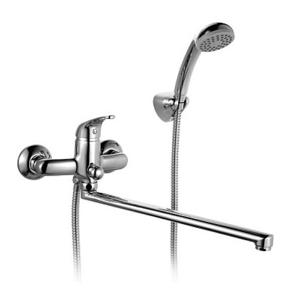 Смеситель для ванны Milardo Davis, 423 мм, DA23A99CK MI