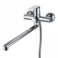 Смеситель для ванны Milardo Dover, 350 мм, DOVSBL0M02, , 5 290 руб., DOVSBL0M02, Milardo, Смесители с длинным изливом