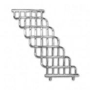 Полотенцесушитель водяной Олимп Лесенка Водопад, 900*800 мм, подключение 300, наружная резьба 3/4